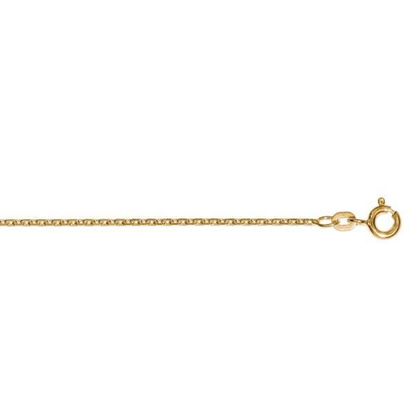 Armband Anker diamantiert 2,00 mm 333/- Gelbgold