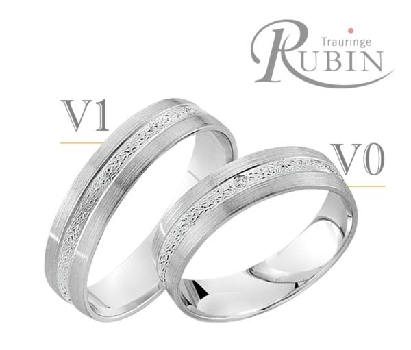 Rubin - Trauringe - Pure R823
