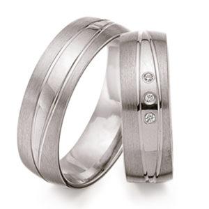 Schwarz - Trauringe - Silber925-099 - Partnerring