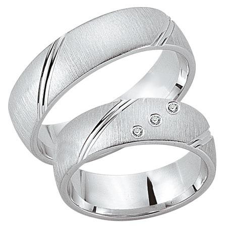 Schwarz - Trauringe - Silber925-091 - Partnerring