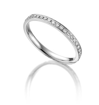 Memory Ring mit Brillanten Rubin All21