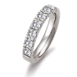 Gerstner - Basic Kollektion - Verlobungsring mit Diamanten - 42822/4.4