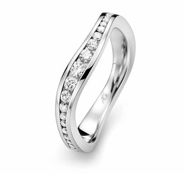 Gerstner - Exclusiv Kollektion - Verlobungsring mit Diamanten - 4/28099/3.7
