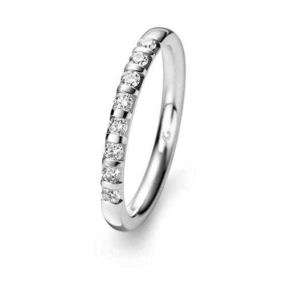 Gerstner - Basic Kollektion - Verlobungsring mit 8 Diamanten - 29732/2.8