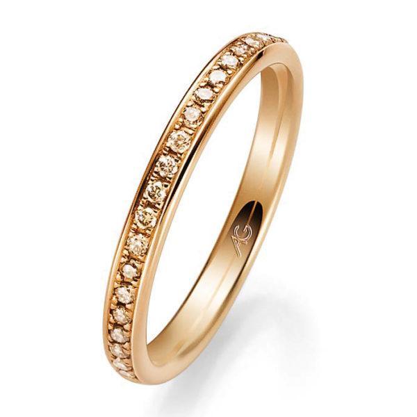 Verlobungsring mit Diamanten - Memoire - Gerstner - 29730/2.3