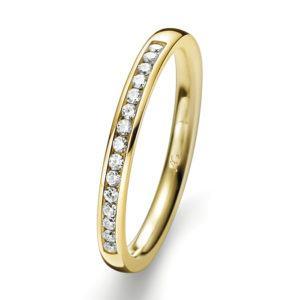 Verlobungsring mit Diamanten - Memoire - Gerstner - 29731/2.6