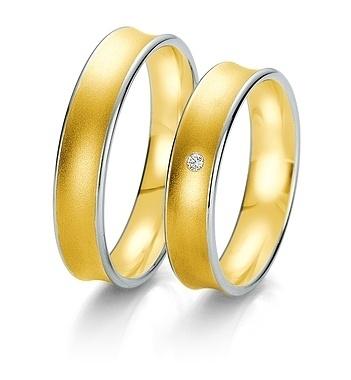 Breuning- Trauring- Rainbow DR 062390 / HR 062400 - Gelbgold