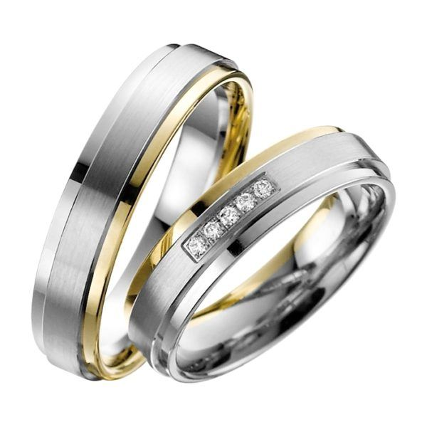 Eheringe - Adore Luxe - mit Diamanten - A33-0