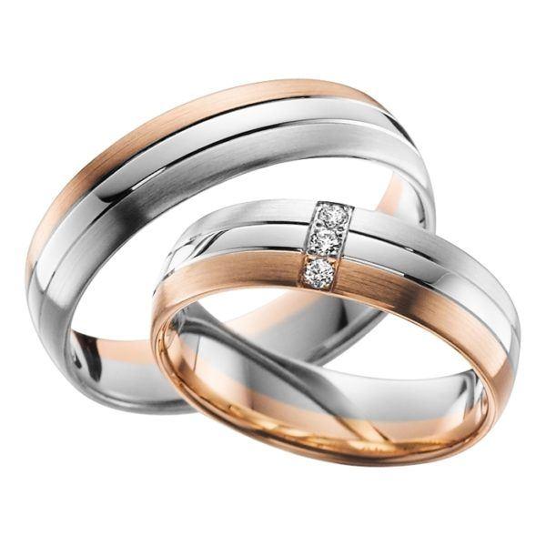 Eheringe - Adore Luxe - mit Diamanten - A34-0