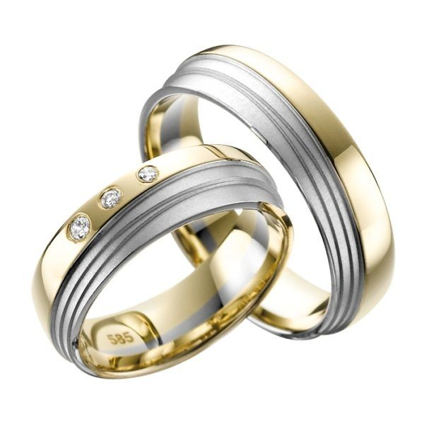 Eheringe - Adore Luxe - mit Diamanten - A35-0