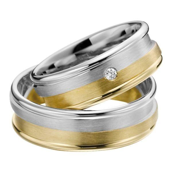 Eheringe - Adore Luxe - mit Diamant - A40-0