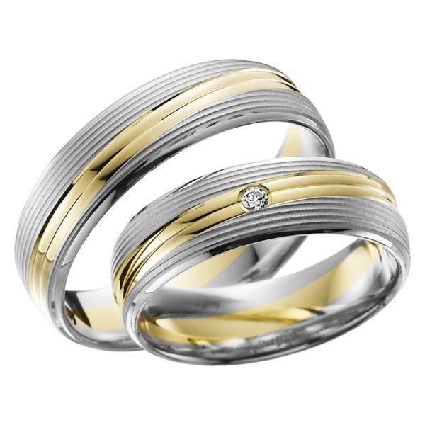 Eheringe - Adore Luxe - mit Diamant - A41-0