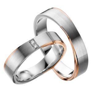 Eheringe - Adore Luxe - mit Diamanten - A42-0