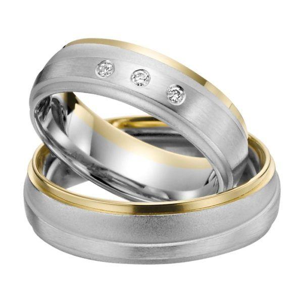 Eheringe - Adore Luxe - mit Diamanten - A43-0