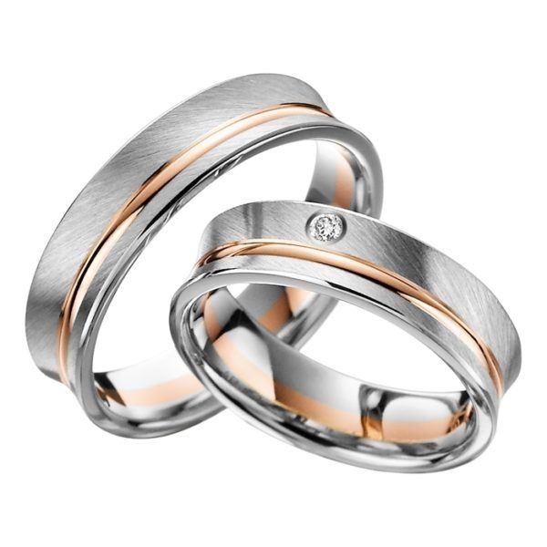Eheringe - Adore Luxe - mit Diamant - A44-0