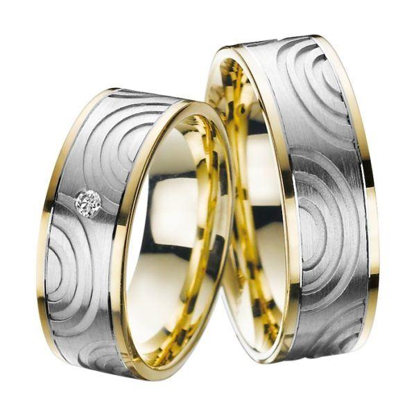 Eheringe - Adore Luxe - mit Diamant - A47-0