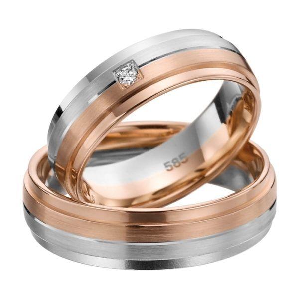 Eheringe - Adore Luxe - mit Diamant - A50-0