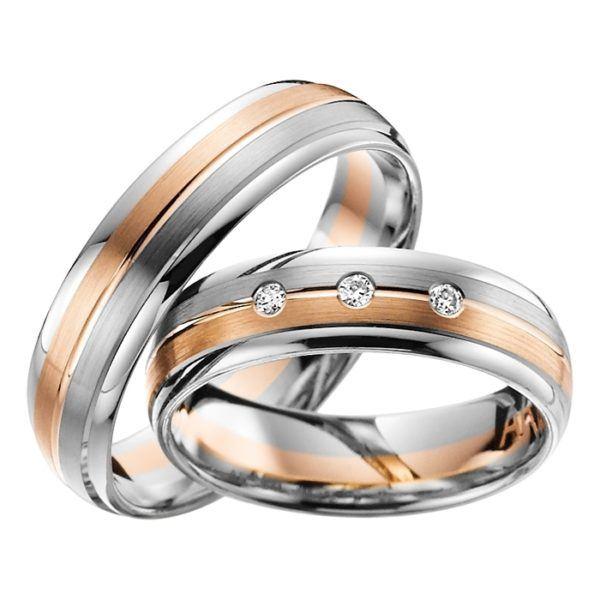 Eheringe - Adore Luxe - mit Diamanten - A51-0
