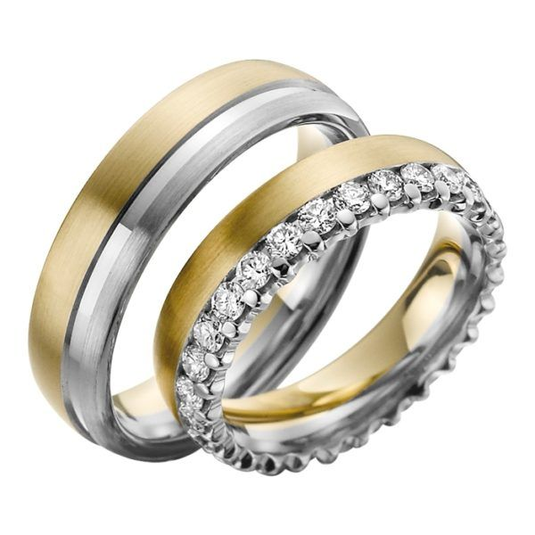 Eheringe - Exclusive - mit Diamanten - R735-0