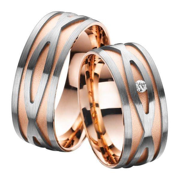 Eheringe - Gold - mit Diamant - R711-0
