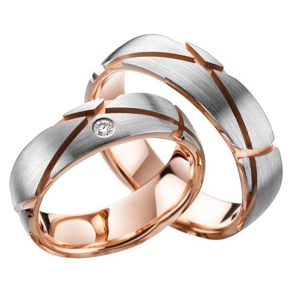Eheringe - Gold - mit Diamant - R716-0