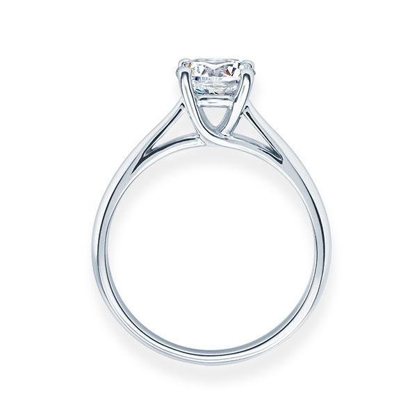 Verlobungsring mit Diamant - 4er-Krappenfassung - Klassisch-20210