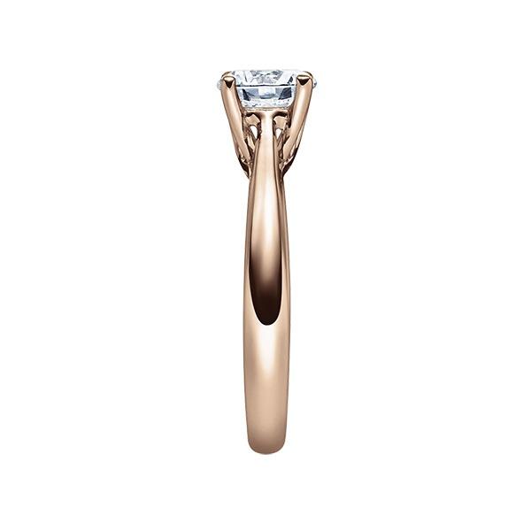 Verlobungsring mit Diamant - 4er-Krappenfassung - Klassisch-20207