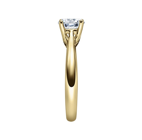Verlobungsring mit Diamant - 4er-Krappenfassung - Klassisch-20204
