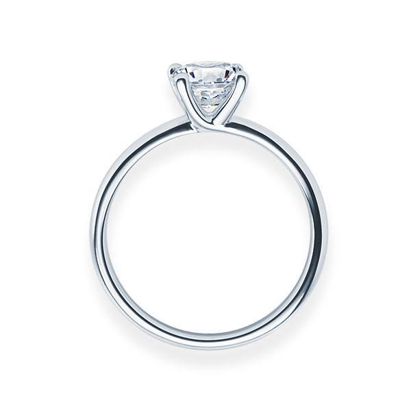 Verlobungsring mit Diamant - 4er-Krappenfassung - Modern-20190
