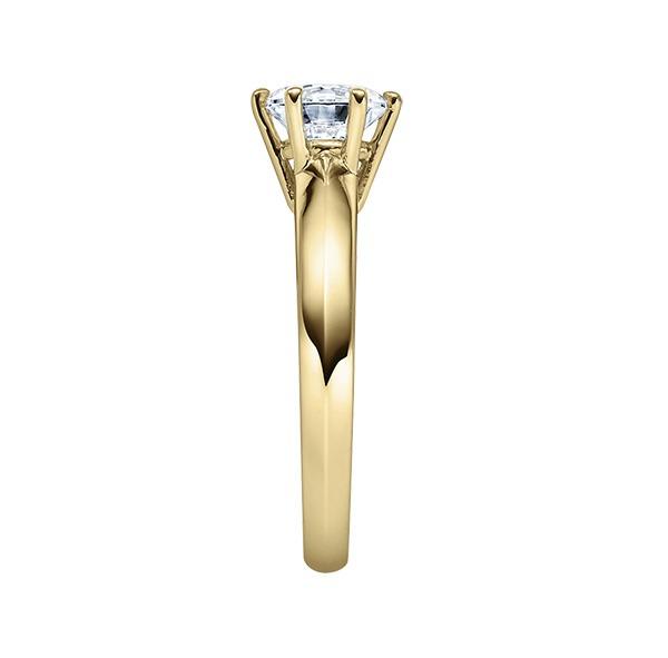 Verlobungsring mit Diamant - 6er-Krappenfassung - Klassisch-20528