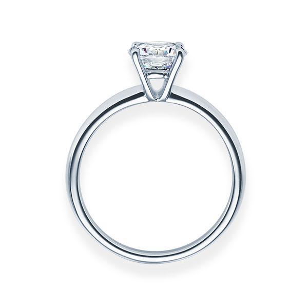 Verlobungsring mit Diamant - 4er-Krappenfassung - Klassisch-20233