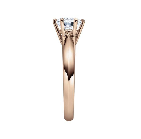 Verlobungsring mit Diamant - 6er-Krappenfassung - Klassisch-20524