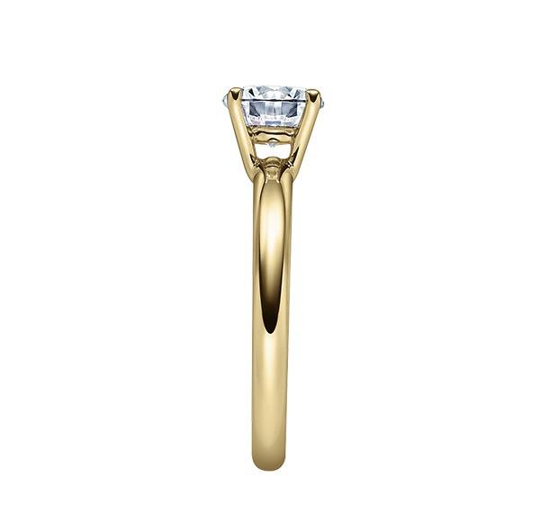 Verlobungsring mit Diamant - 4er-Krappenfassung - Klassisch-20223