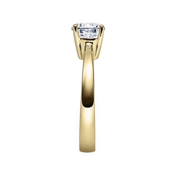Verlobungsring mit Diamant - 4er-Krappenfassung - Klassisch-20262