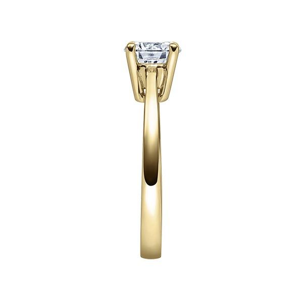 Verlobungsring mit Diamant - 4er-Krappenfassung - Klassisch-20516