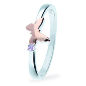 Rauschmayer Ring Love Birds Kids Collection Schmetterling