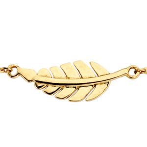 Armband Feder Gold 585/000