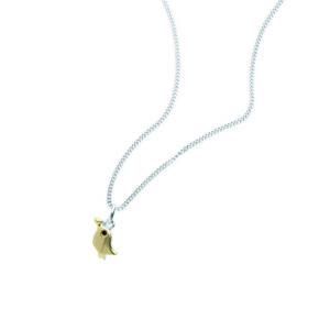 Rauschmayer Anhänger Love Birds Kids Collection gold rhodiniert
