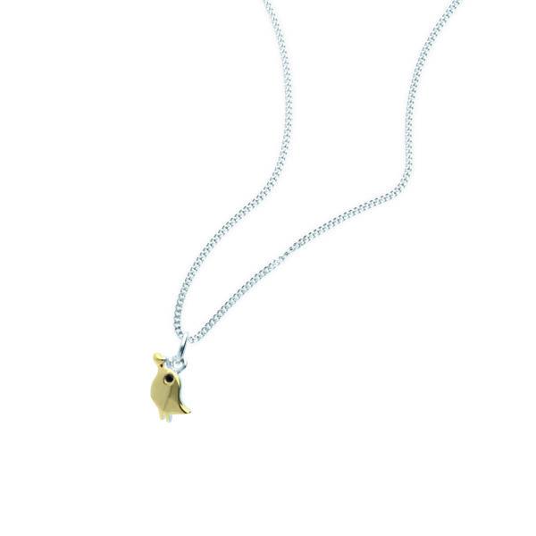 Rauschmayer Anhänger Love Birds Kids Collection gold rhodiniert
