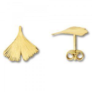 Ohrringe in Blatt Form