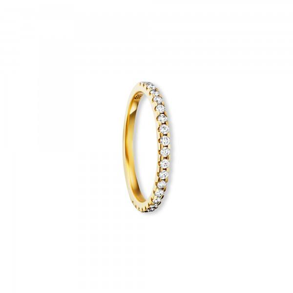 Ring Brillant 0,25ct 585/- Gelbgold