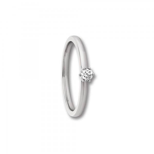Ring Brillant 0,25ct 585/- Gelbgold