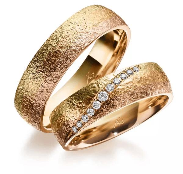 Gerstner Trauringe Morgenröte Design Brillant Diamant